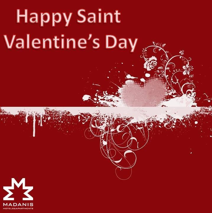 Happy Valentines Day Hotel Madanis